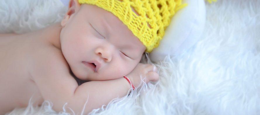 Krevetac koji umiruje bebu