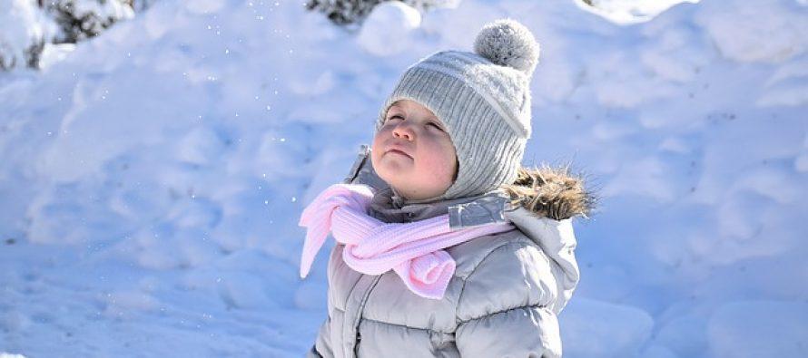 Nega kože dece zimi