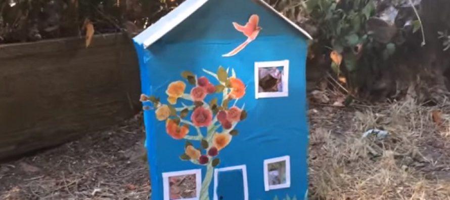 Napravite sami kućicu za lutke (VIDEO)