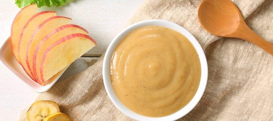 Napravite sami ukusnu kašicu za bebe od pirinča, jabuka i banana