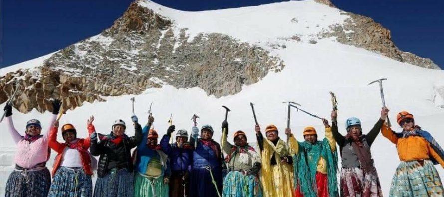 """Ženska planinarska grupa """"Las Cholitas"""""""
